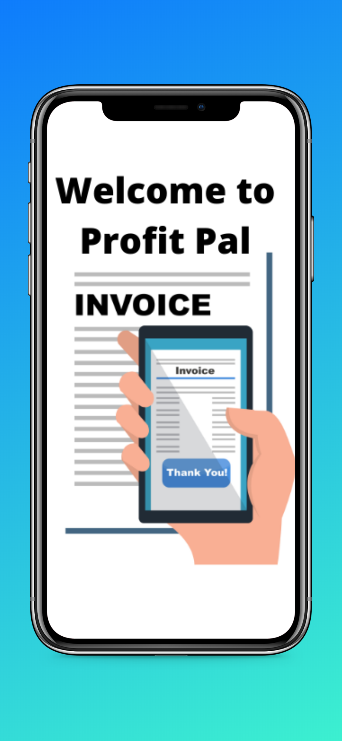 Profit Pal Mobile Invoicing App